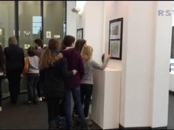 Kunstausstellung des Alleegymnasiums im Stadtmuseum Siegburg