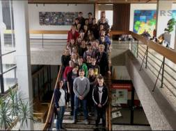 Schüler aus Frankreich besuchen Siegburg