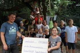 Spende Juni 2019 an Abenteuerspielplatz Presse