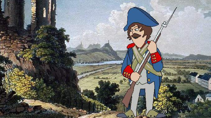 Am Rhein in jenen Jahren