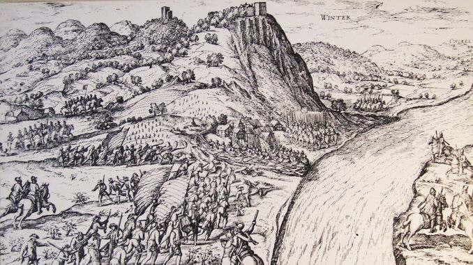 Hogenberg, Belagerung von Königswinter