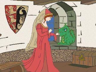 Marguerite, Siefnir, an der Wand Ottos Wappen