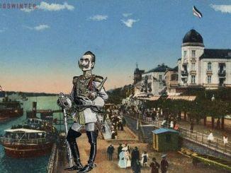 Kaiser Wilhelm, Rheinallee Königswinter