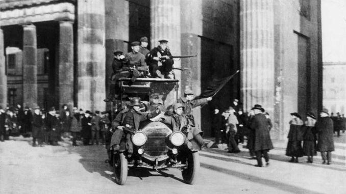 Siebengebirge Geschichte, Kaiserreich, Novemberrevolution