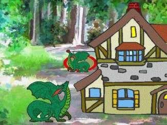 """Drachen aus dem Siebengebirge, """"Merry Dragon"""""""