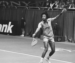 Was Arthur Ashe gay?