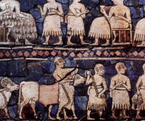 Were the Sumerians rh negative?