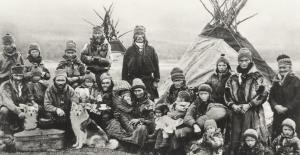 The mystery of Haplogroup V (mtDNA) Saami-people