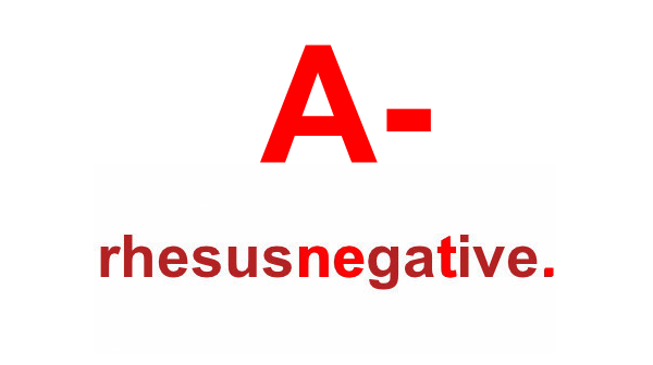 Is your blood type A negative? A-negative-1