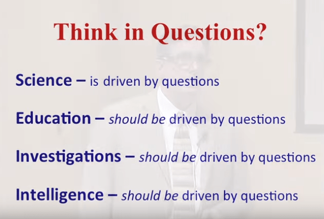RH- Blood Type - Are you questioning everything? Think-in-questions