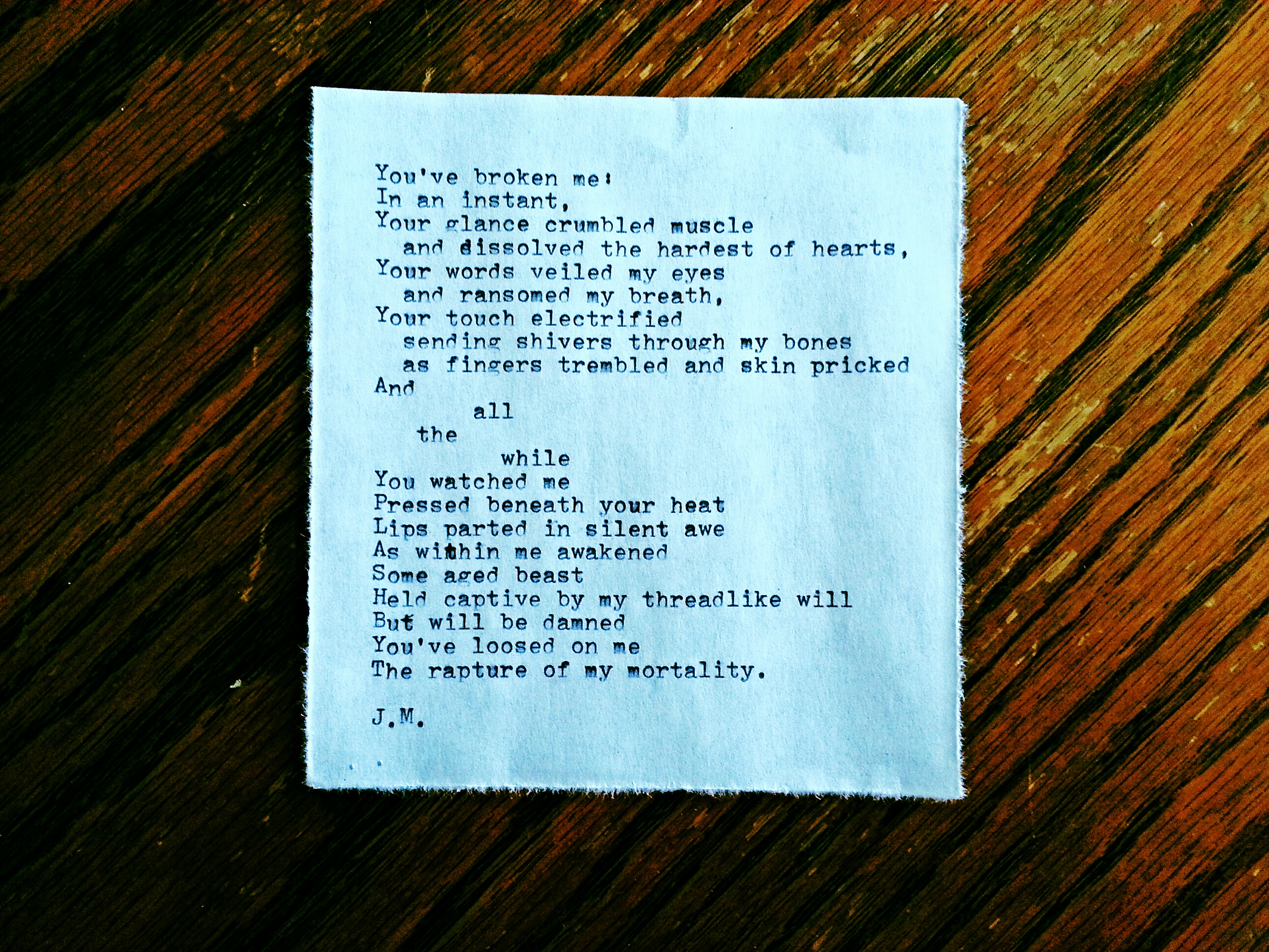 Broken (a poem)