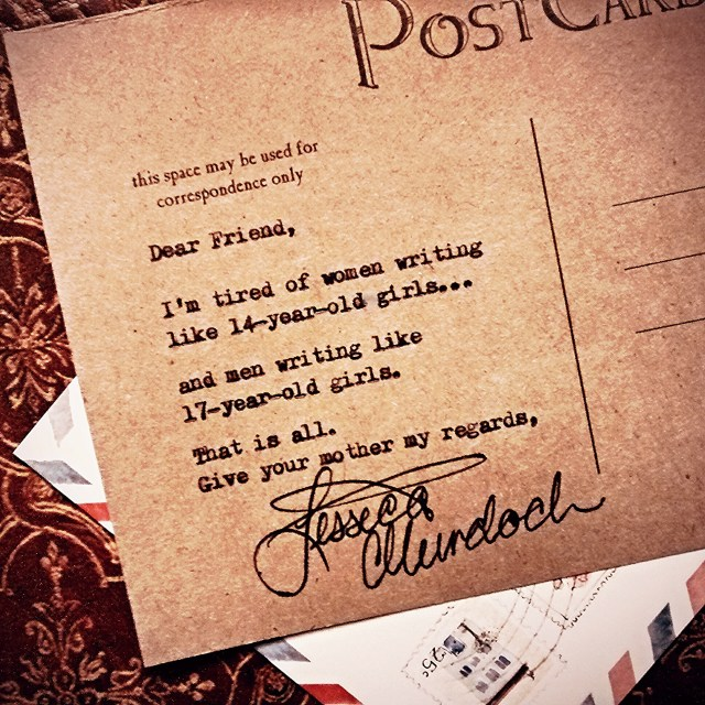 Letters to a Friend: On Writing