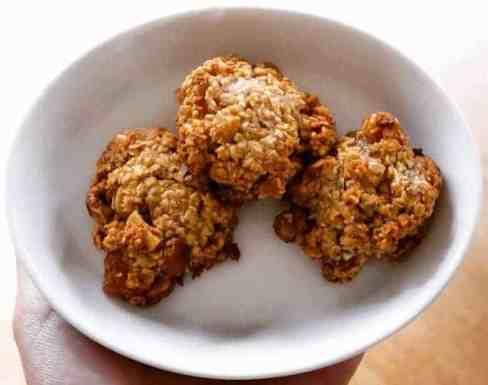 Tropical Granola Bites (Vegan + GF)