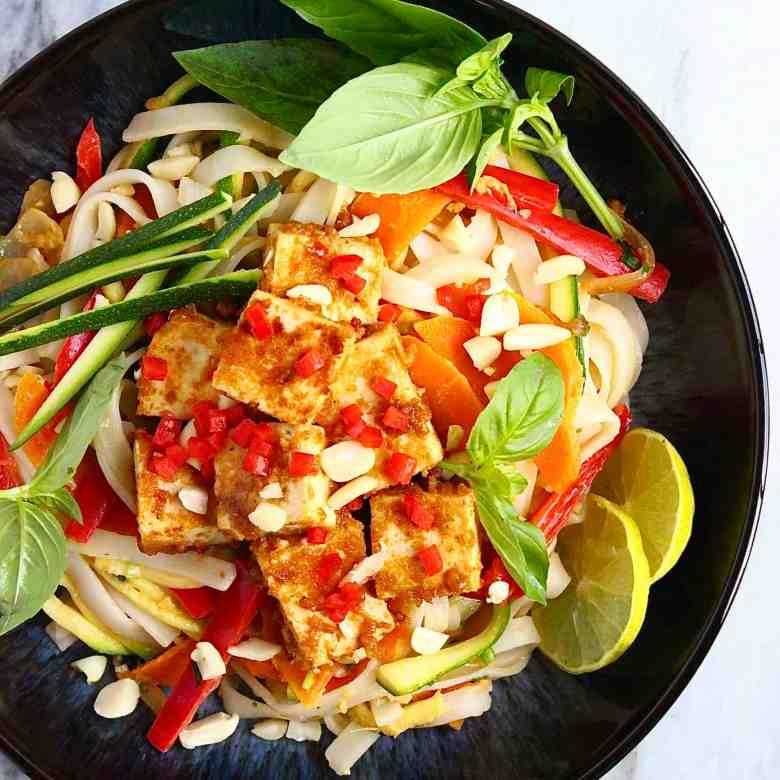 Vegan Tofu Pad Thai (GF)