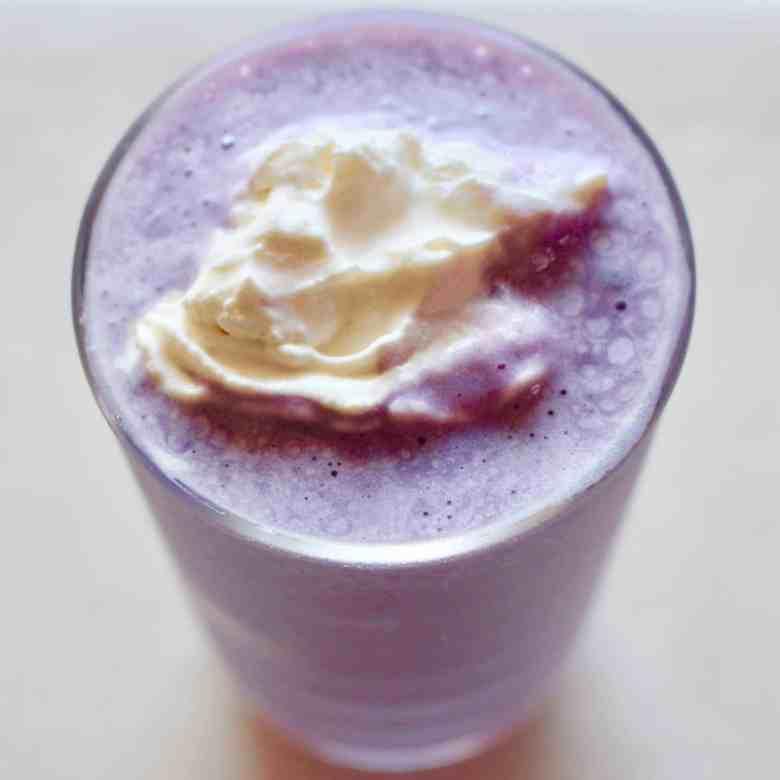 Purple Sweet Potato Milkshake (Vegan + GF)