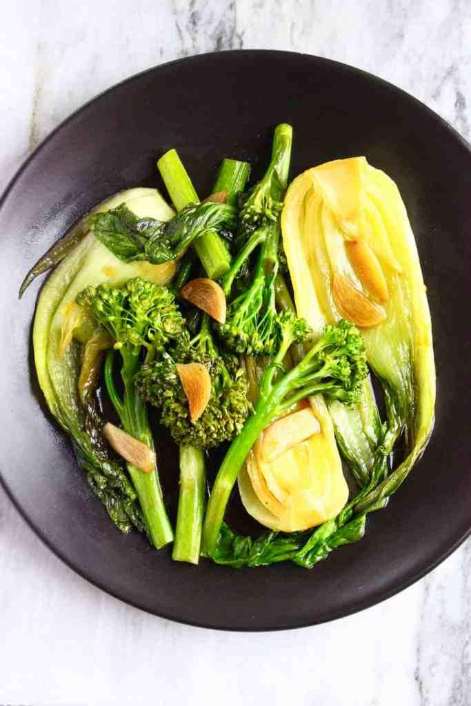 Wagamama Wok-Fried Greens (Vegan + GF)