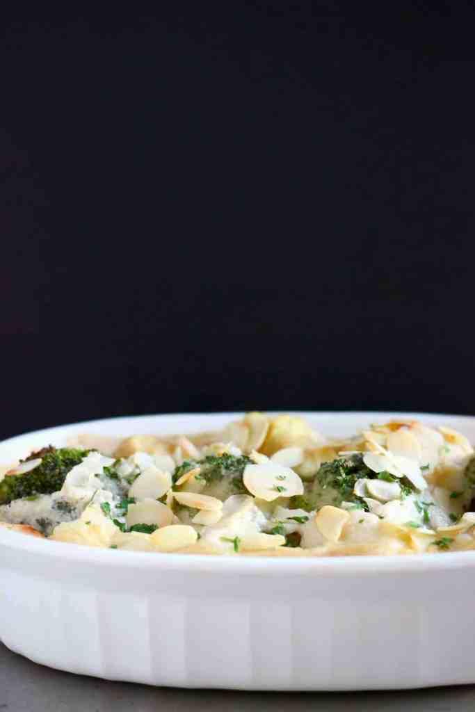 Vegan Cauliflower Cheese Gratin (GF)