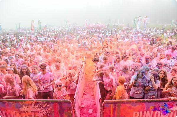 run or dye event