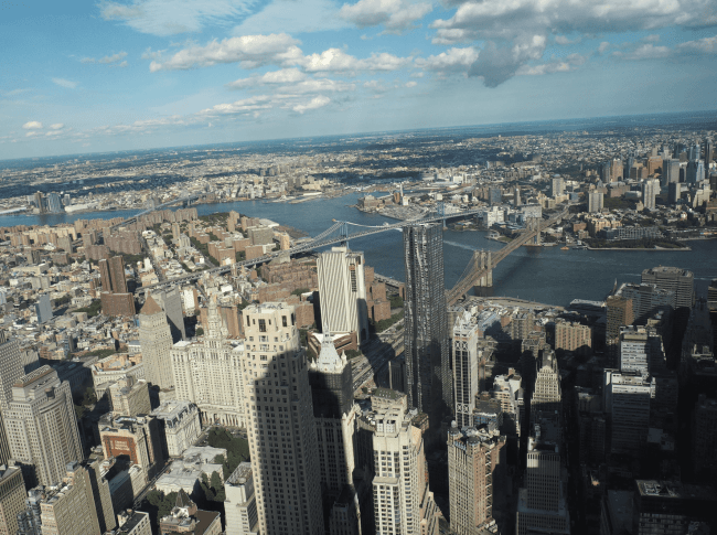 one world trade centre view
