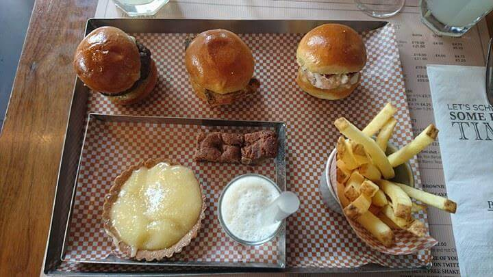 American Style Afternoon Tea At Brgr Soho
