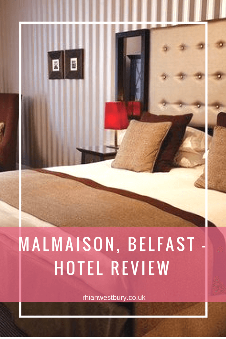 If you are traveling to Belfast soon, why not check our my Malmaison Hotel Review
