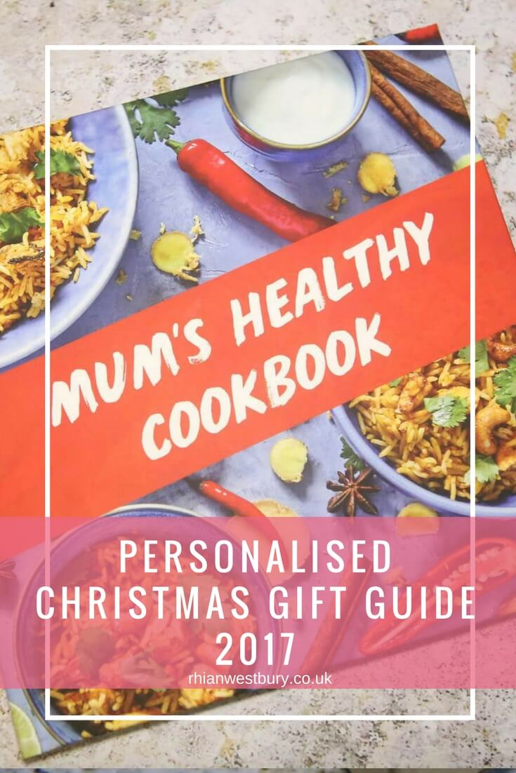 Personalised Christmas Gift Guide 2017