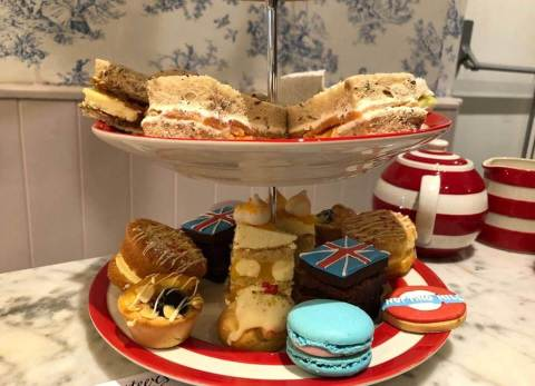 Biscuiteers Afternoon Tea