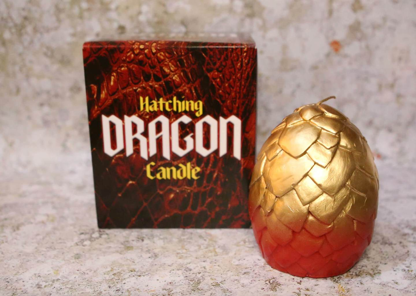 Hatching Dragon Candle