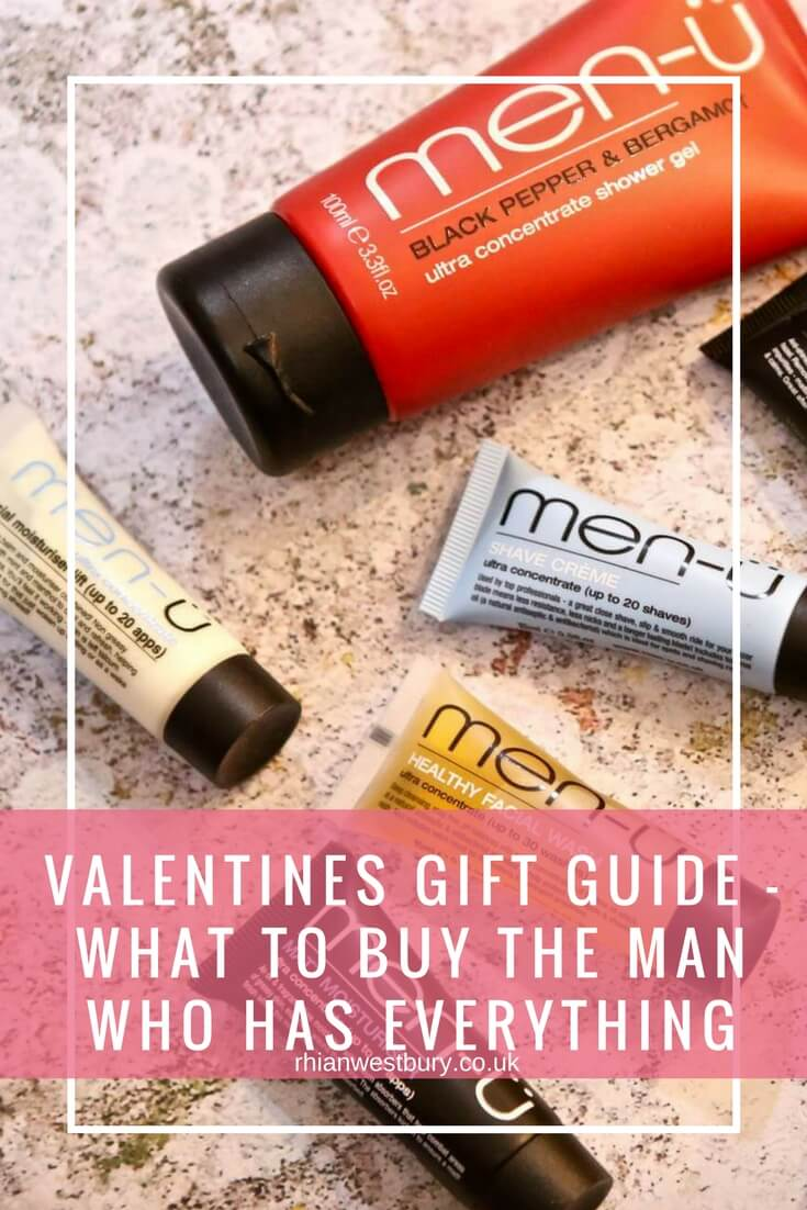 Valentines Gift Guide | What To Buy The Man Who Has Everything