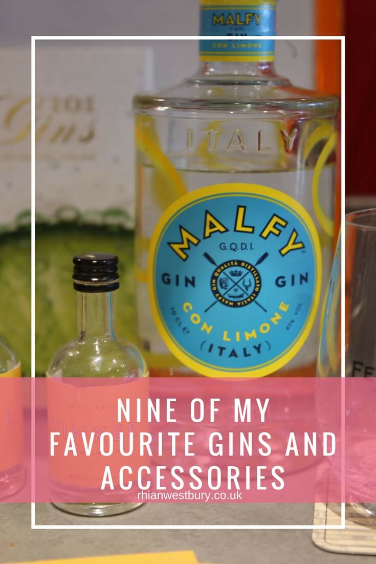 Nine Of My Favourite Gins And Accessories