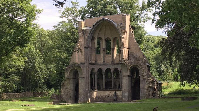 Ruin of the medieval choir Heisterbach