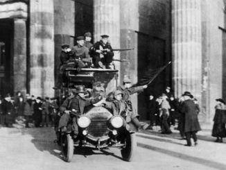 German Revolution, Berlin November 1918