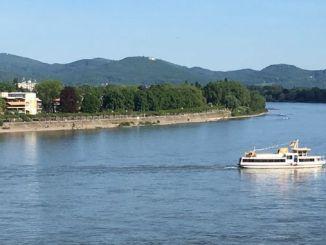 Rhine at Bonn, Siebengebirge