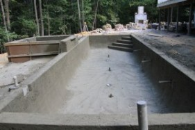 concrete gunite