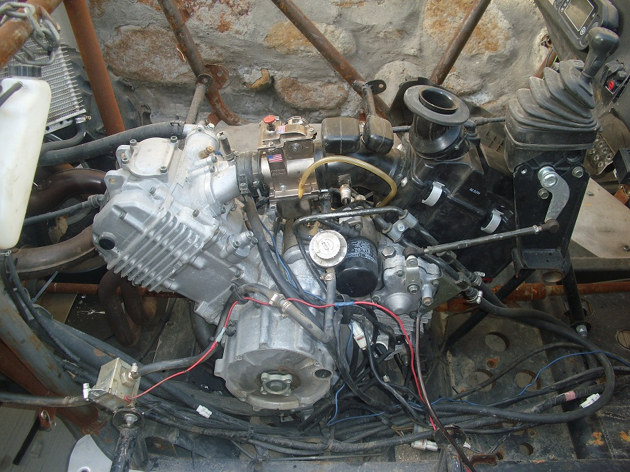 07 Rhino 660 Motor With Extras For Sale