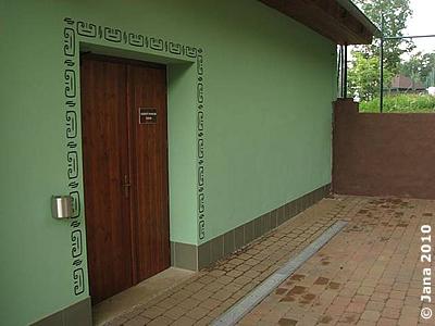 Eingang zum Nashornhaus, 6. Juli 2010