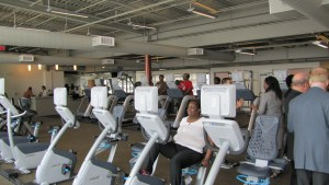 Exercise facilities will be provided by the YMCA.