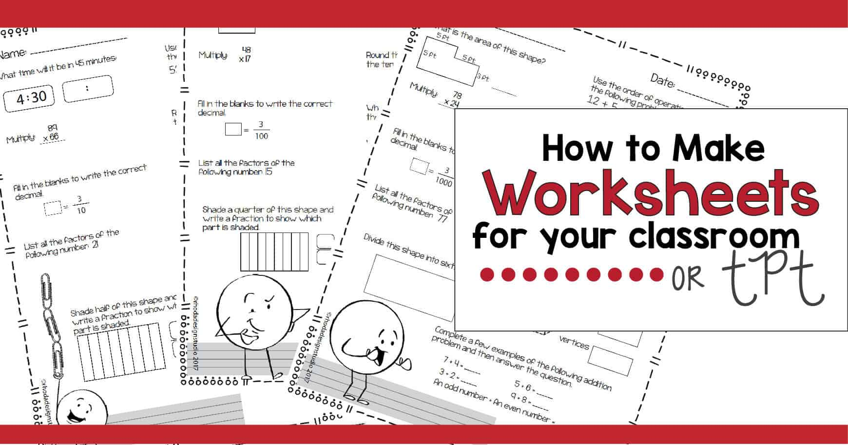 How To Make Rigorous Math Worksheets Printables For Your