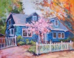 House Portrait - Impressionist style painting