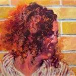 acrylic portrait of Betsy