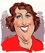 custom caricature head and shoulders