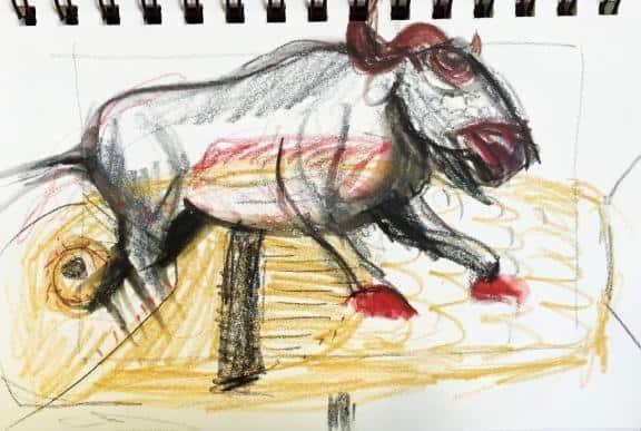 fish-buffalo
