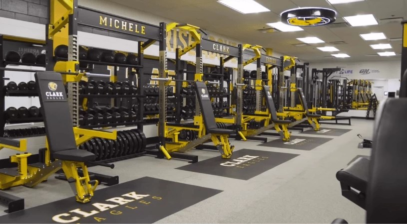 Located in Chicago, Ill., Michele Clark High School was in need of a major facelift in their weight room.