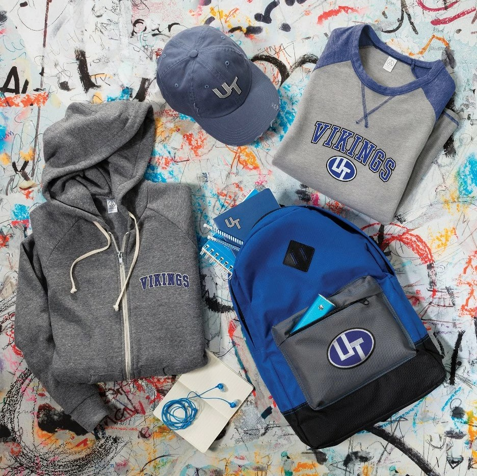 School branded merchandise