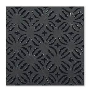 decoro-quadrifolio-nero-volcanic-stone