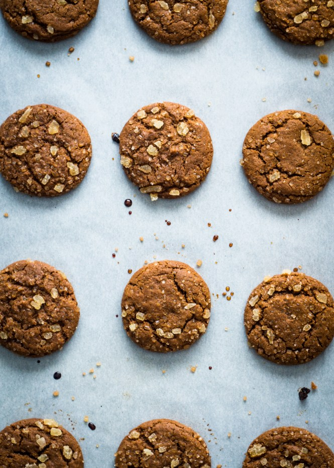 Five Spice Ginger Molasses Cookies