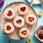 Victoria Sponge Cupcakes with Strawberry Preserves