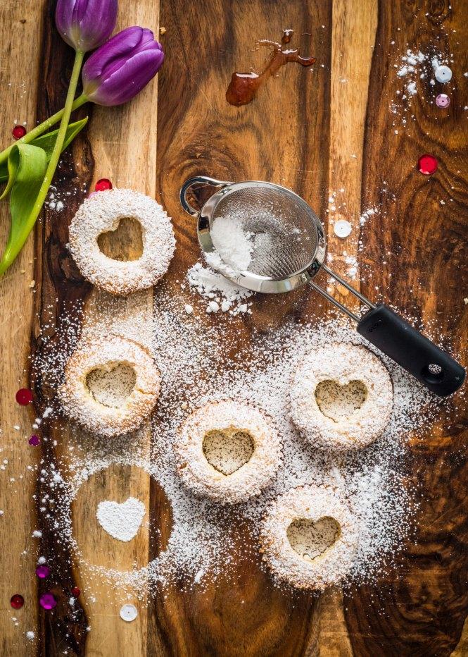 Victoria Sponge Cupcakes with Strawberry Preserves