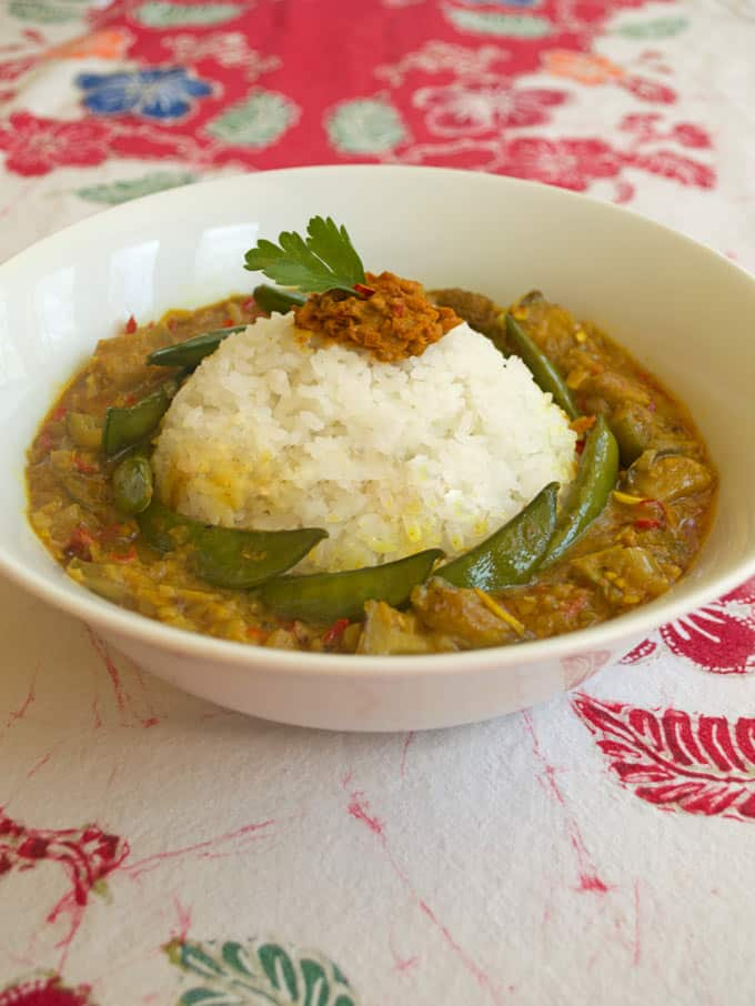 Arousing appetites' thai curry from scratch