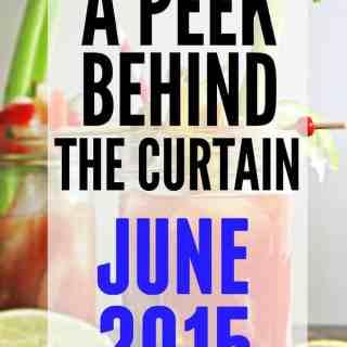 A peek behind the curtain: June 2015 // Rhubarbarians